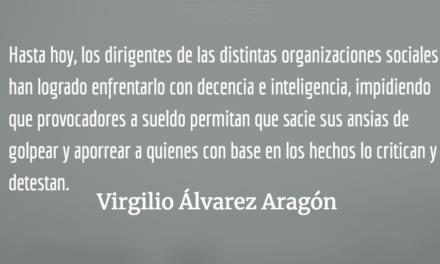 El presidente encarcelado. Virgilio Álvarez Aragón.