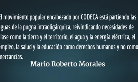 El pueblo con CODECA en la calle. Mario Roberto Morales.