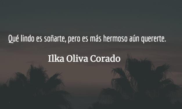 Tu voz, tu maravillosa voz. Ilka Oliva Corado.