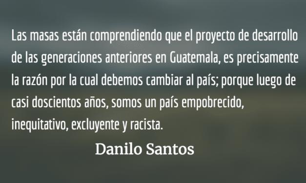 Ciudadanos, no lacayos. Danilo Santos.