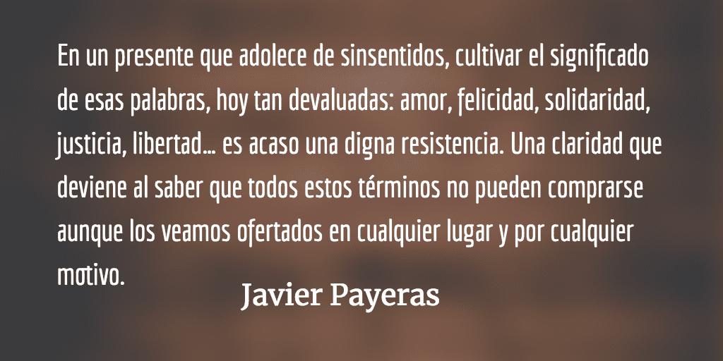 El pequeño Larousse ilustrado. Javier Payeras.