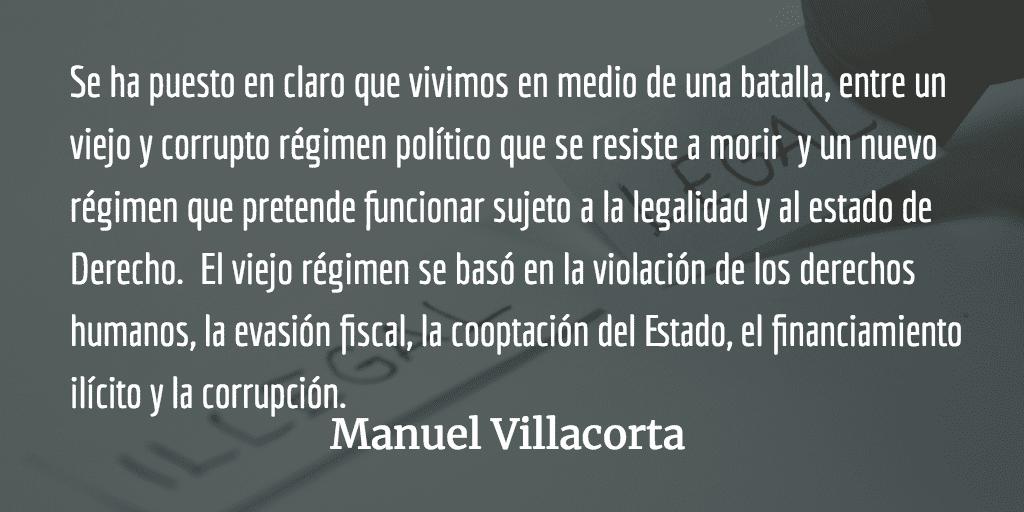 Guatemala: hacia la batalla final. Manuel Villacorta.