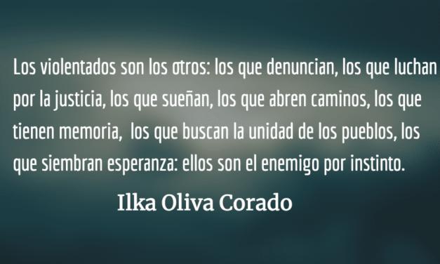 La indiferencia y su efecto bumerán. Ilka Oliva Corado.