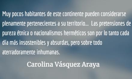El barniz se descascara. Carolina Vásquez Araya.