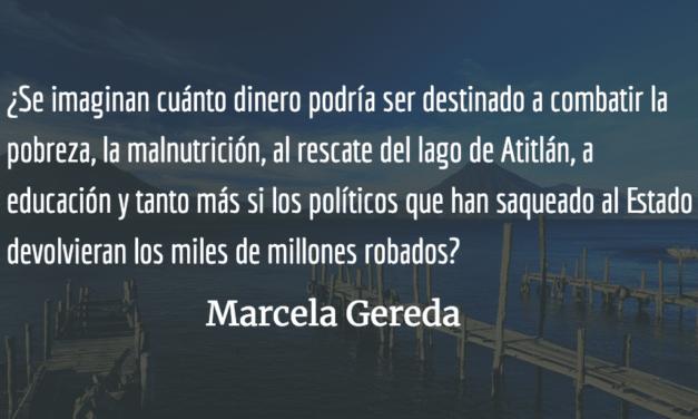 Atitlán: metáfora del país. Marcela Gereda.
