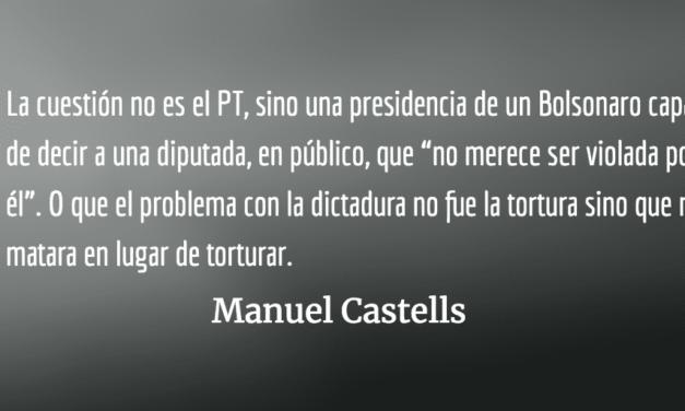 Carta abierta a los intelectuales del mundo. Manuel Castells.