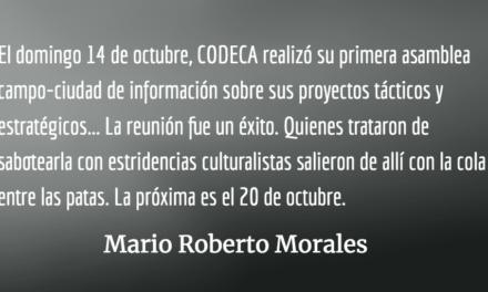 Dos noticias y algo de coyuntura. Mario Roberto Morales.