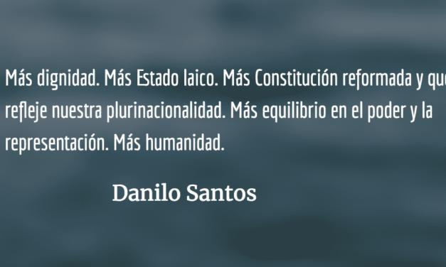 Más veintes con su octubre. Danilo Santos.