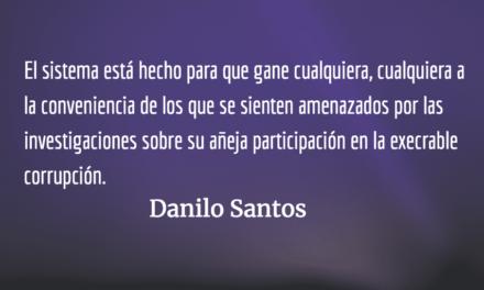 Y sin embargo tuvo la oportunidad… Danilo Santos