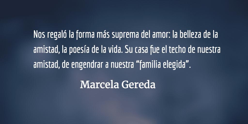 Gracias María Olga, hasta luego. Marcela Gereda.