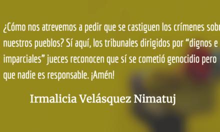 ¿Qué somos los indígenas en Guatemala? Irmalicia Velásquez Nimatuj