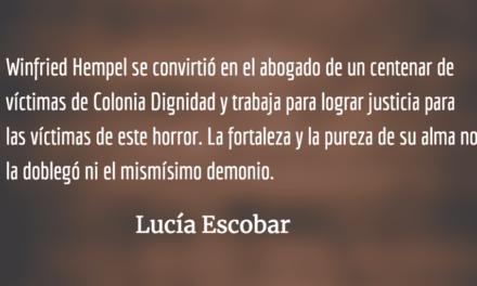 Winfried Hempel, el ser resiliente. Lucía Escobar.