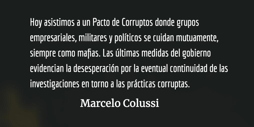 Mafias, hipocresía y palo. Marcelo Colussi.