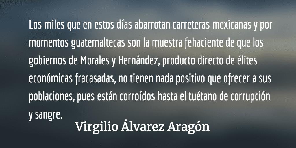 ¿Quién les paga a los migrantes? Virgilio Álvarez Aragón