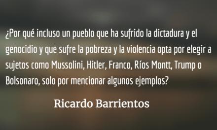 Brasil: advertencia para todo el mundo. Ricardo Barrientos.