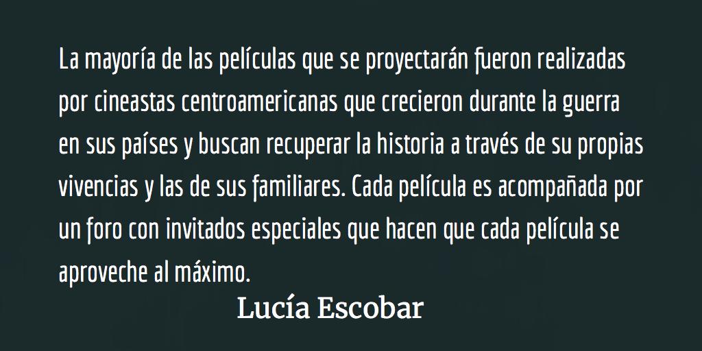 Desanudar la historia. Lucía Escobar.