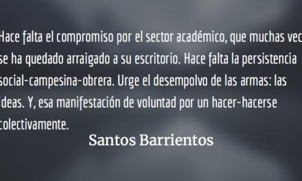La política del revés. Santos Barrientos.
