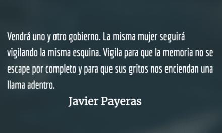 La memoria del nylon azul. Javier Payeras.