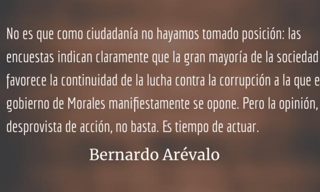 ¿Estamos presenciando la reconstrucción del autoritarismo? Bernardo Arévalo