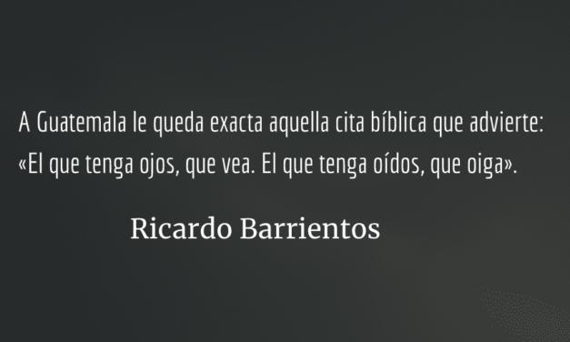 Presupuesto 2019: detalle de robos y desfalcos. Ricardo Barrientos.