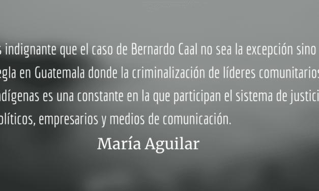 Criminalización comunitaria en Guatemala. María Aguilar.