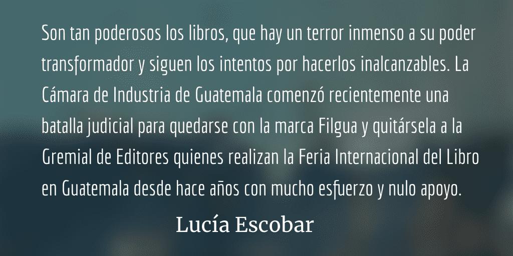 De niñas, libros y robos. Lucía Escobar.