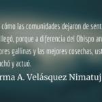 ¿Qué le pasó Monseñor Álvaro Ramazzini? Irma A. Velásquez Nimatuj