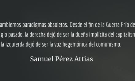 ¿De izquierda o de derecha? Samuel Pérez Attias