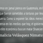 El asesinato y la eternalización de Jamal Khashoggi. Irmalicia Velásquez Nimatuj.