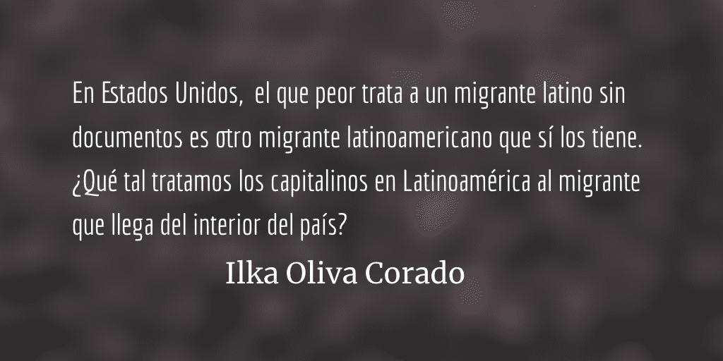 La explotación de prietos contra prietos. Ilka Oliva Corado.