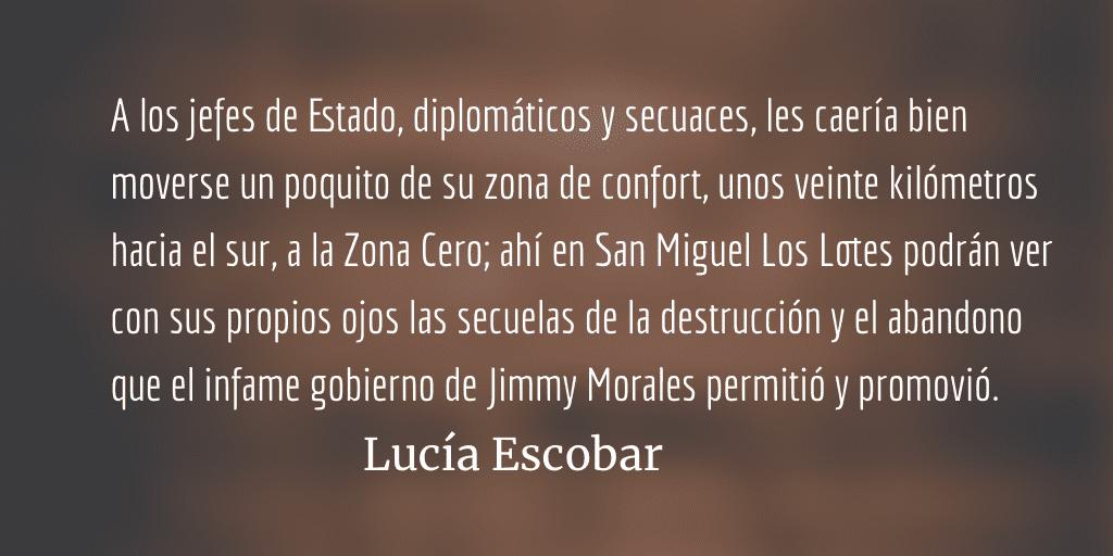 Cumbres borrascosas. Lucía Escobar.