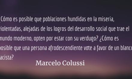 Hora de reflexión para la izquierda. Marcelo Colussi.