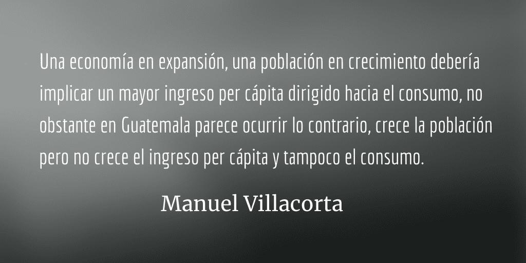 ¿Por qué no crece la inversión privada en Guatemala? Manuel Villacorta