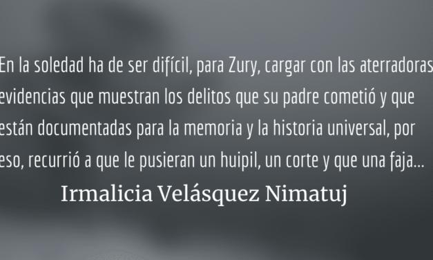 El fantasma del genocidio detrás de Zury Ríos