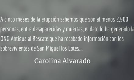 Crónica de una catástrofe. Carolina Alvarado.