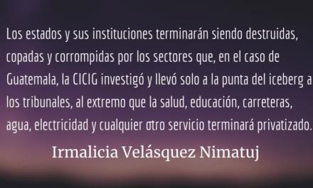 La desestabilización de Centroamérica