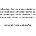 Luis Cardoza y Aragón