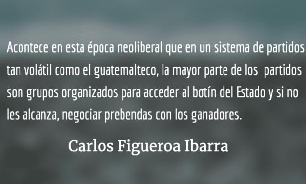 El hiperpartidismo de cara a las elecciones presidenciales en Guatemala