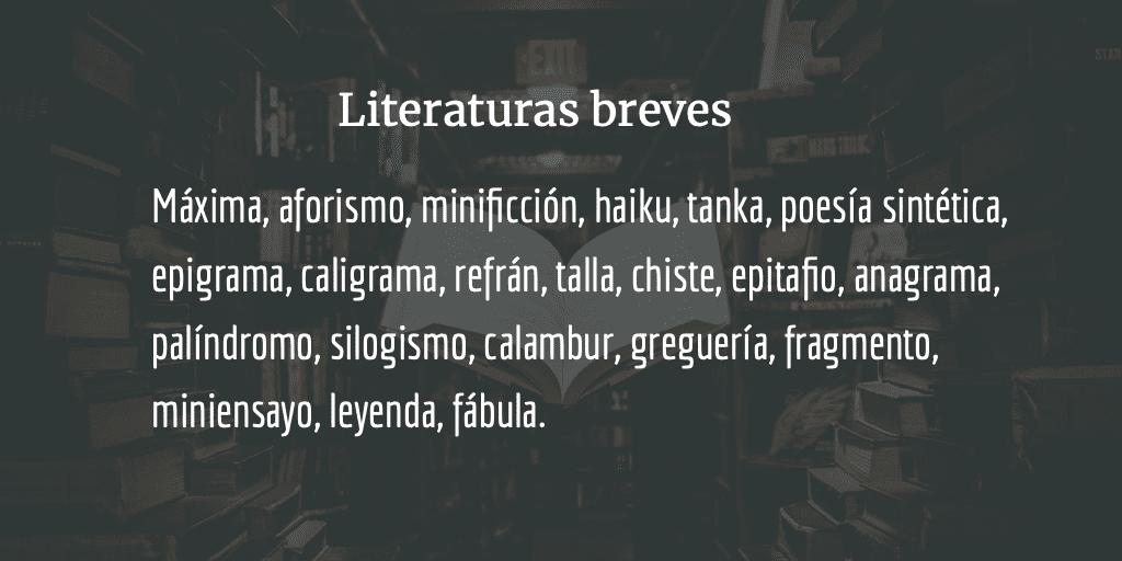 Literaturas breves
