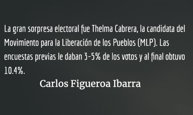 Reflexiones iniciales sobre las elecciones en Guatemala