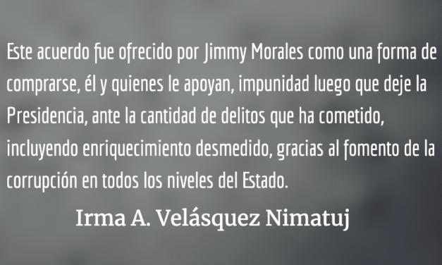 Un acuerdo de asilo firmado a espaldas de los guatemaltecos
