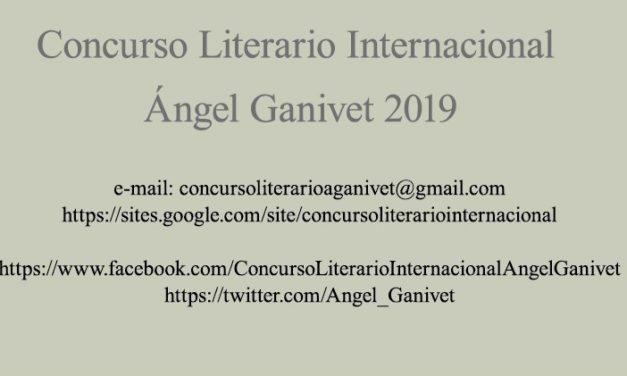 """XIII CONCURSO LITERARIO INTERNACIONAL """"ÁNGEL GANIVET"""""""
