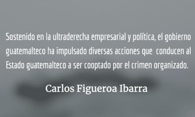 La Justicia pende de un hilo en Guatemala