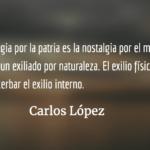 Carlos López: la poesía, el exilio y la nostalgia por el mundo