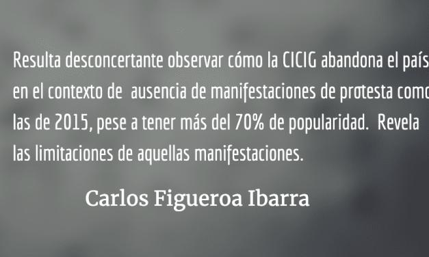 Guatemala en la orfandad: se va la CICIG