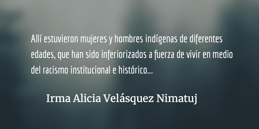 """Los """"indios permitidos"""" al servicio del encomendero Alejandro Giammattei"""