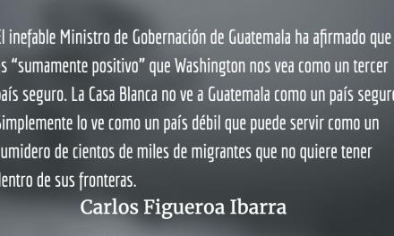 Guatemala, un país inseguro como tercer país seguro