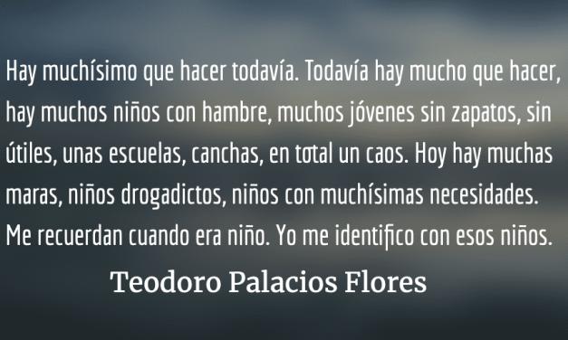Biografía en primera persona de Teodoro Palacios Flores