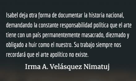 El legado de Isabel Ruiz a la historia y el arte de Guatemala