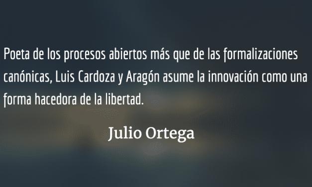 La constelación poética de Luis Cardoza y Aragón